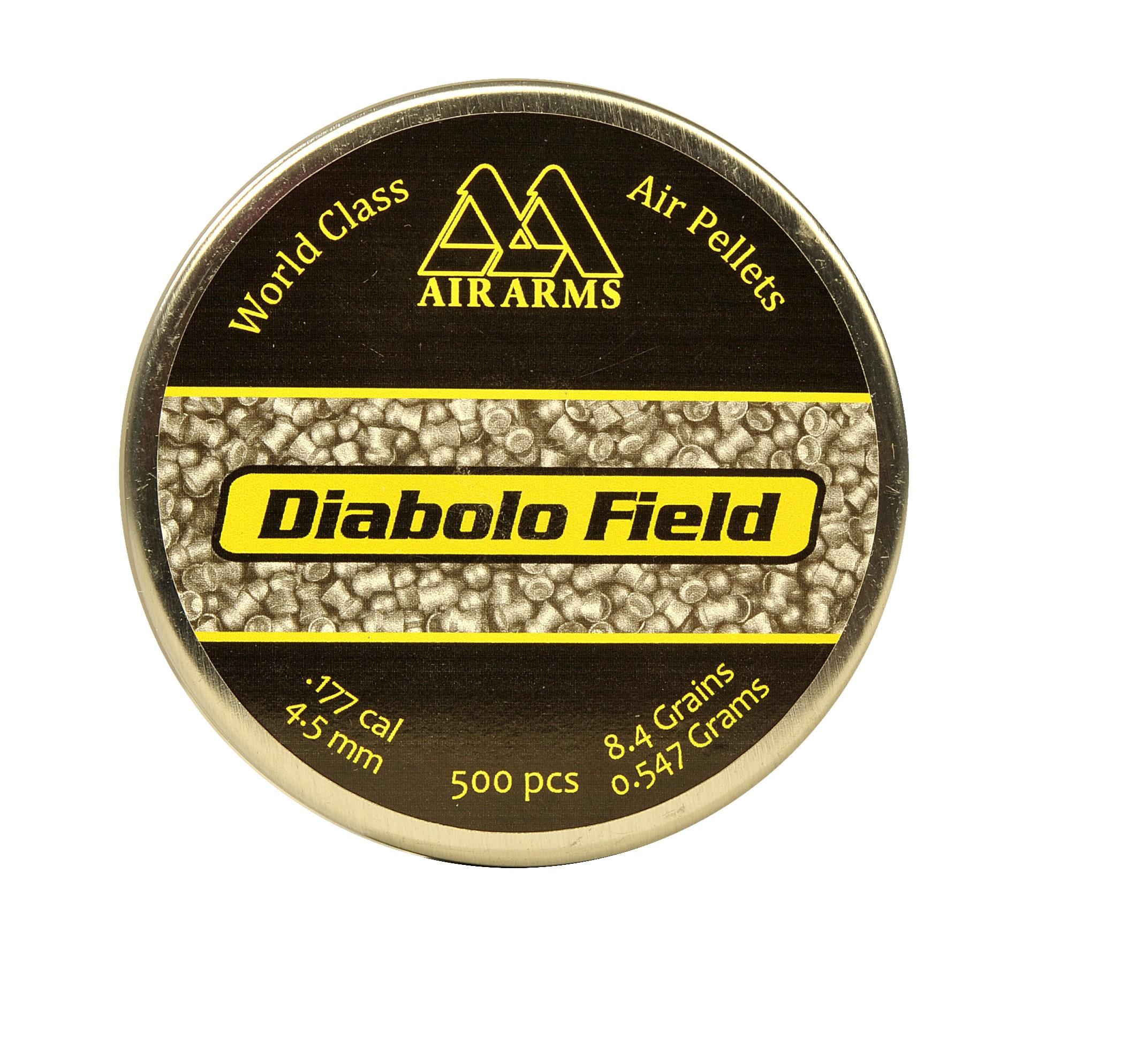 Pellets .22 Air Arms Diablo field