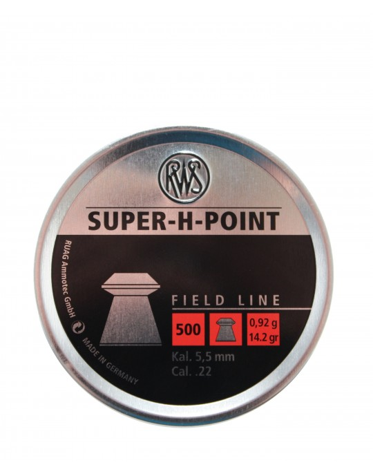 Pellets .22 RWS Super H point